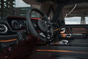 fostla.de concepts Brabus 700 Mercedes-AMG G 63 W463A Tuning Leustungssteigerung Bodykit Felgen Interieur Veredlung