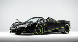 New Pagani Huayra Roadster Acid Green