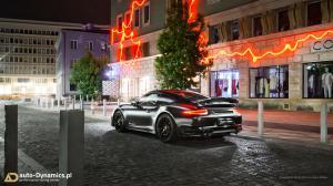 porsche 911 turbo s 991 dark knight von Auto Dynamics